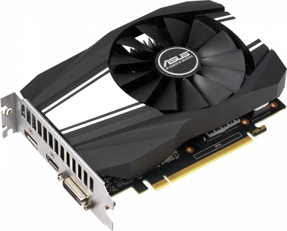 Видеокарта nVidia GeForce GTX1660 ASUS PCI-E 6144Mb (PH-GTX1660-6G)