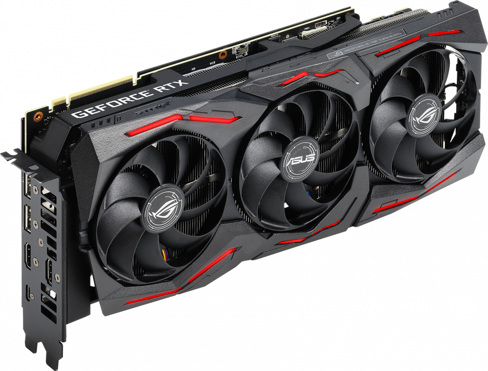 Видеокарта nVidia GeForce RTX2080 Super ASUS PCI-E 8192Mb (ROG-STRIX-RTX2080S-8G-GAMING)