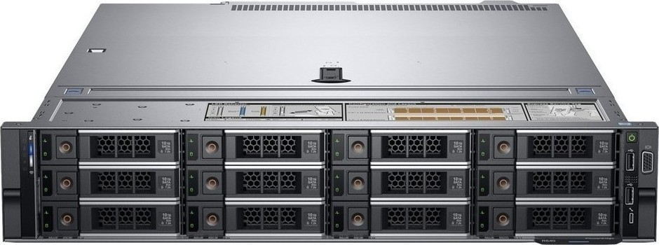 Сервер DELL PowerEdge R540 (2)*Gold 6230 (2.1GHz, 20C)