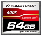 Карта памяти 64Gb Silicon Power 400x (SP064GBCFC400V10)