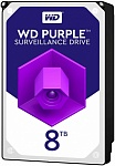 Жесткий диск 8Tb SATA-III Western Digital Purple (WD81PURZ)
