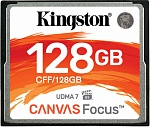 Карта памяти 128Gb Kingston Canvas Focus (CFF/128GB)