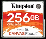 Карта памяти 256Gb Kingston Canvas Focus (CFF/256GB)